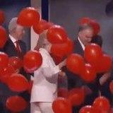 Bill loves him some balloons