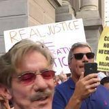 Protestor in Philadelphia poured water Geraldo