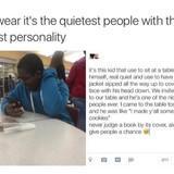The quiet kid