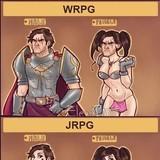 wrpg vs jrpg