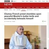 Muslims Kill French Priest