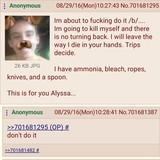 Anon kills himself