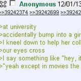 Anon bumps into a girl