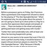 American Anthem Is Racist