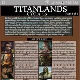 Titanlands CYOA