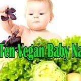 Top Ten Vegan Baby Names